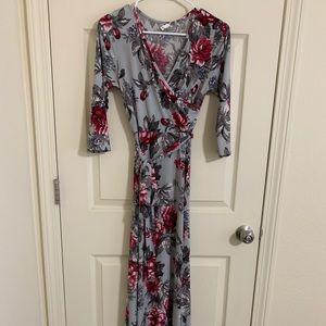 Pinkblush Maternity Floral Maxi Dress